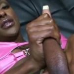 imagen belleza negra masturba su gran cipote